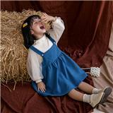 女中童  秋冬款加绒套装 适合3-7岁儿童 JM606