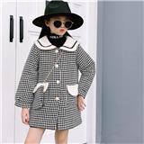 女中童  秋冬款呢子大衣 适合4-8岁儿童JD907