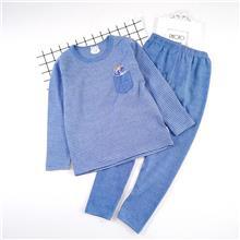 大童  无骨星空德绒内衣套装 适合8-13岁儿童 ZY5640