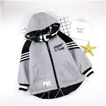 男大童  秋冬款加厚双面穿卫衣 适合7-12岁儿童DBT868
