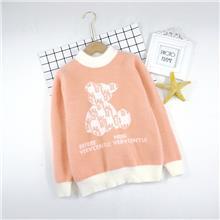 女大童  时尚毛衣 适合8-13岁儿童XH2121