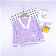 女大童  毛衣开衫 适合4-8岁儿童 MH8022
