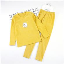 大童  德绒细条纹内衣套装 适合8-13岁儿童ZY5617